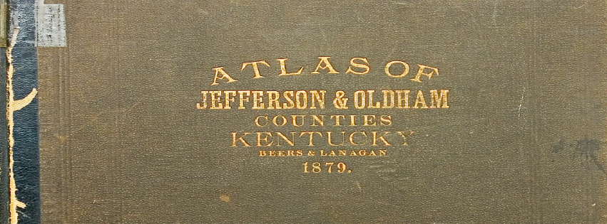 1879 Oldham Jefferson Atlas Oldham County History Center